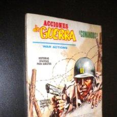Cómics: ACCIONES DE GUERRA COMANDOS / 1 / PRIMERA MISION. Lote 54187570