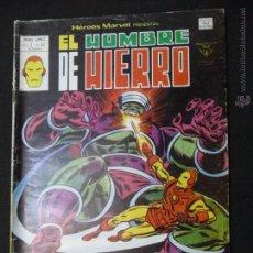 Cómics: HÉROES MARVEL. VOL. 2, Nº 62. EL HOMBRE DE HIERRO. VÉRTICE. Lote 54188176