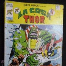 Comics: SUPER HÉROES. VOL 2. Nº 77. LA COSA Y THOR. VÉRTICE. Lote 54188276