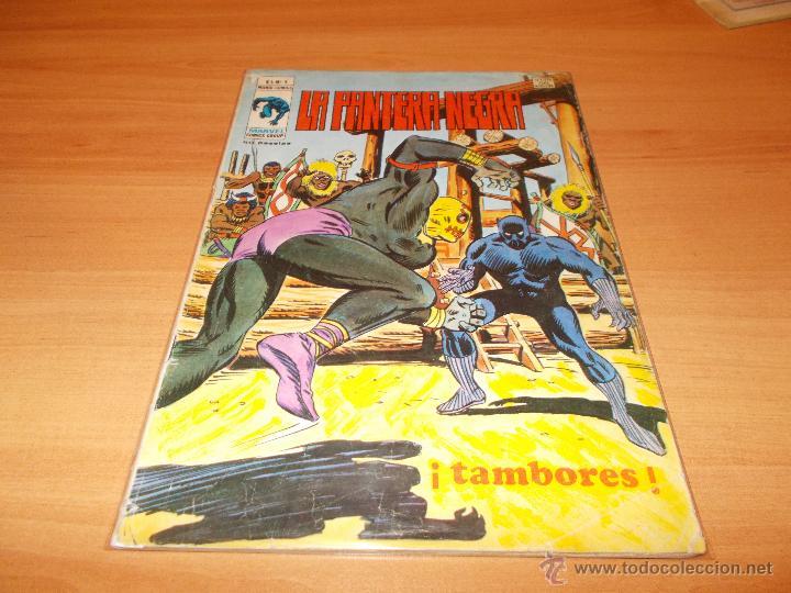 LA PANTERA NEGRA V.1 Nº 4 (Tebeos y Comics - Vértice - Otros)