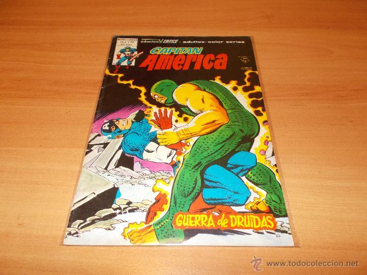 CAPITAN AMERICA V.3 Nº 45 (Tebeos y Comics - Vértice - Capitán América)