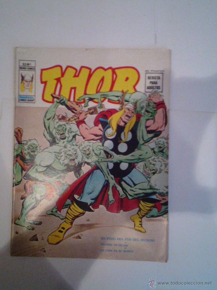 THOR - VERTICE - VOLUMEN 2 - COMPLETA - 53 NROS + NRO UNICO DE CENSURA - IMPECABLE - CJ 50 - GORBAUD (Tebeos y Comics - Vértice - Thor)