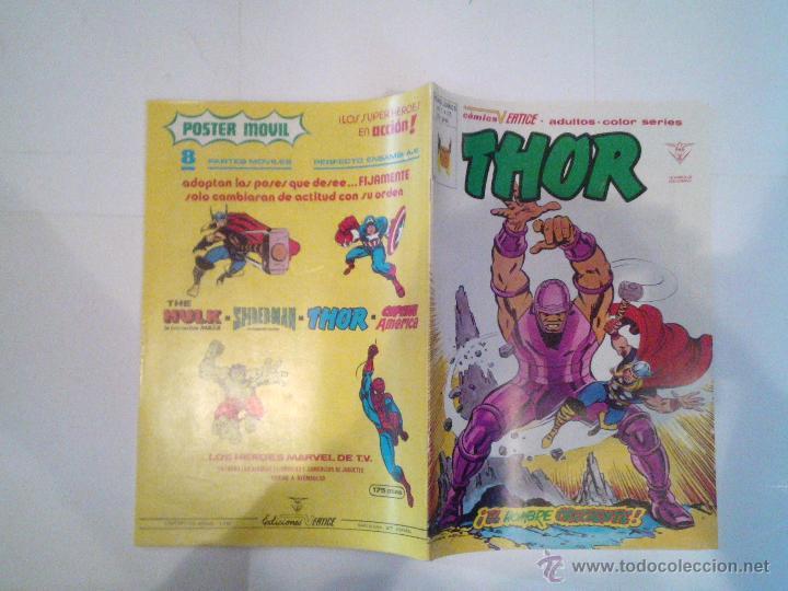 Cómics: THOR - VERTICE - VOLUMEN 2 - COMPLETA - 53 NROS + NRO UNICO DE CENSURA - IMPECABLE - CJ 50 - GORBAUD - Foto 210 - 54296455