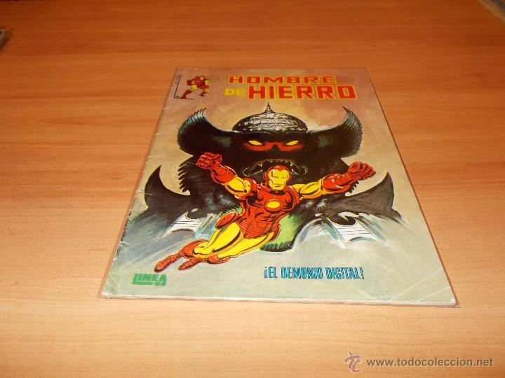 EL HOMBRE DE HIERRO Nº 2 LINEA SURCO (Tebeos y Comics - Vértice - Surco / Mundi-Comic)