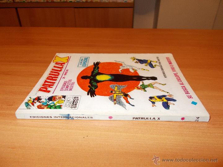 PATRULLA X V.1 Nº 24 (Tebeos y Comics - Vértice - Patrulla X)
