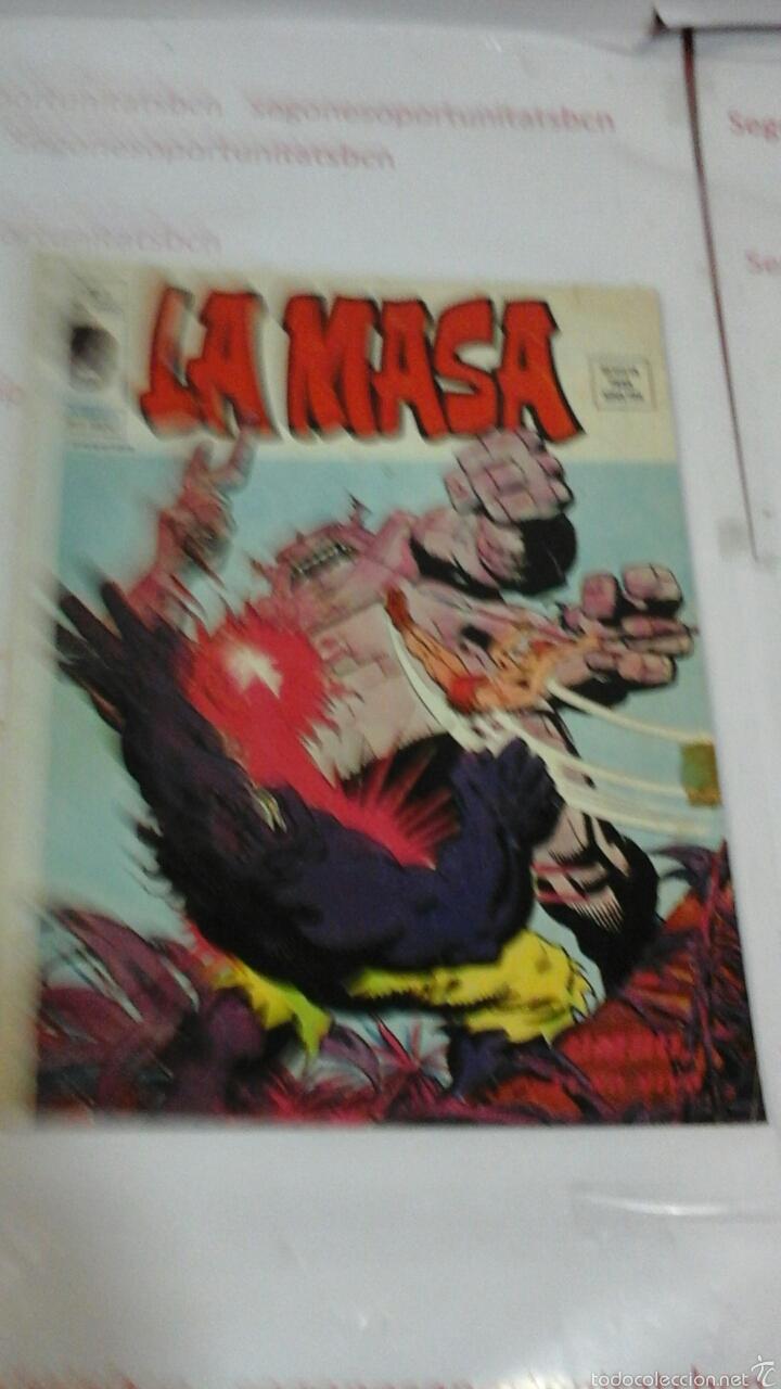 LA MASA - VOL 3 N°5 - VERTICE (Tebeos y Comics - Vértice - La Masa)