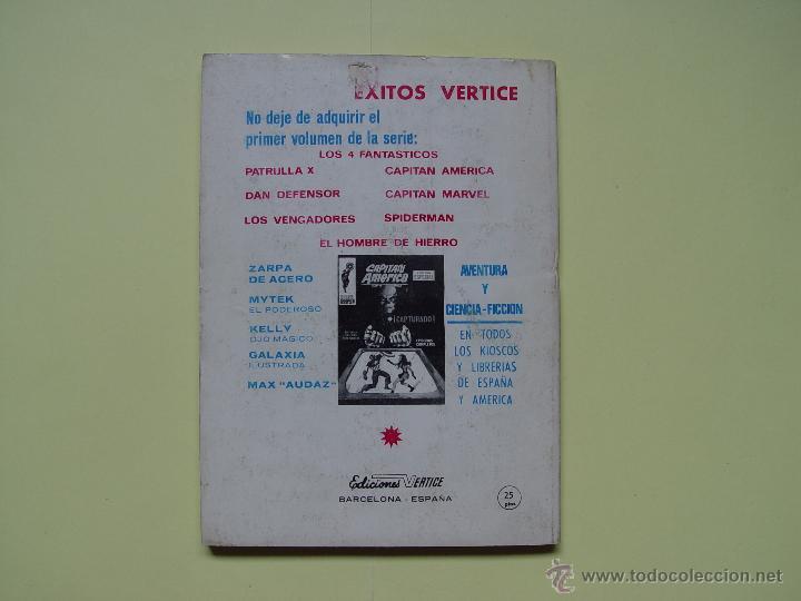 Cómics: LA MARCHA DE LAS HORMIGAS ASESINAS. (VÉRTICE, 1969, nº 38) ¡Extra! COLECCIONISTA - Foto 2 - 54388351