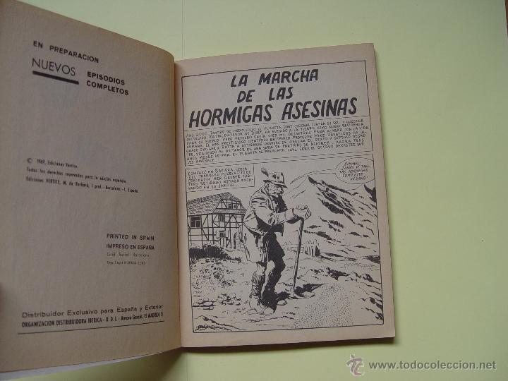 Cómics: LA MARCHA DE LAS HORMIGAS ASESINAS. (VÉRTICE, 1969, nº 38) ¡Extra! COLECCIONISTA - Foto 5 - 54388351