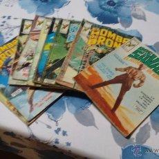 Cómics: HOMBRE DE BRONCE DOC SAVAGE 1 AL 9 COMPLETA VERTICE. Lote 54436492