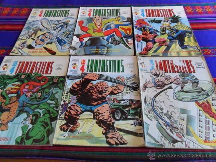 VÉRTICE VOL. 2 LOS 4 FANTASTICOS 5 6 8 10 12 14 18(2) 21(2) 22 23 24 25 26 27 28. SUELTOS (Tebeos y Comics - Vértice - 4 Fantásticos)