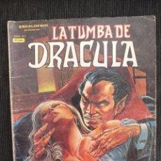 Comics : ESCALOFRIO LA TUMBA DE DRACULA Nº 4 EDITORIAL VERTICE. Lote 54572179