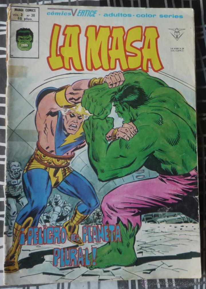 LA MASA. V3 Nº 38 (Tebeos y Comics - Vértice - La Masa)