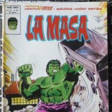 Cómics: LA MASA. V3 Nº 39. EN EXCELENTE ESTADO. Lote 54572720