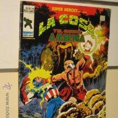 Cómics: SUPER HEROES VERTICE VOL. 2 Nº 104 LA COSA Y EL CAPITAN AMERICA. Lote 54577885