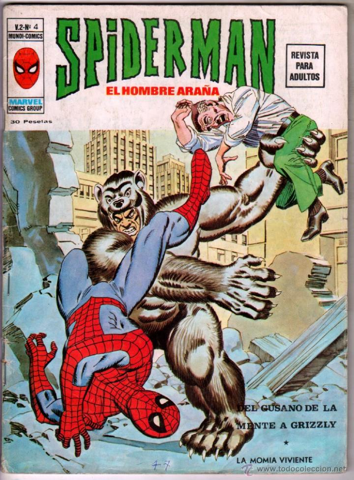 SPIDERMAN V 2 Nº 4 , MUY DIFICIL !!!!!! (Tebeos y Comics - Vértice - V.3)