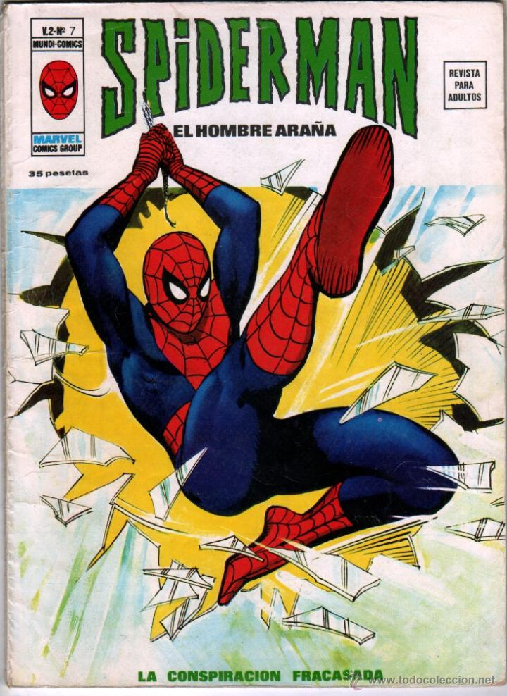 SPIDERMAN V 2 Nº 7 - MUY DIFICIL !!!! (Tebeos y Comics - Vértice - V.2)