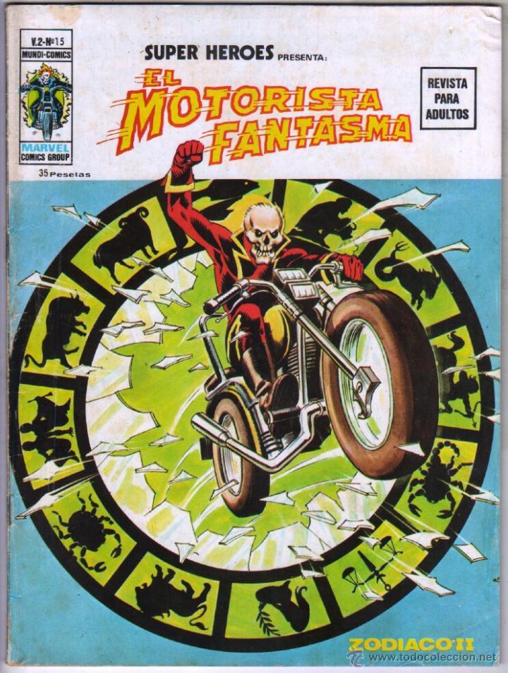 SUPER HEROES V 2 Nº 15 EL MOTORISTA FANTASMA (Tebeos y Comics - Vértice - Super Héroes)