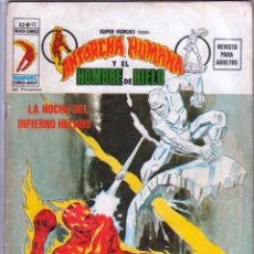 Cómics: SUPER HEROES V 2 Nº 12 - ANTORCHA HUMANA Y EL HOMBRE DE HIELO. Lote 54582631