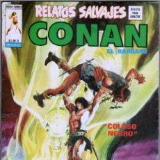 Comics: RELATOS SALVAJES Vº 1 Nº 8 CONAN EL BARBARO - COLOSO NEGRO - MUY NUEVO, VER IMAGENES. Lote 54598458