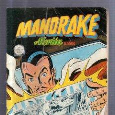 Cómics: TEBEO MANDRAKE. MERLIN EL MAGO. Nº 7. EL RETORNO DEL CUBO MAGICO. 2ª PARTE. Lote 54599336
