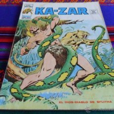 Cómics: VÉRTICE VOL. 2 KAZAR KA ZAR KA-ZAR Nº 5. 35 PTS. 1975. EL DIOS-DIABLO DE SYLITHA. BUEN ESTADO.. Lote 54603676