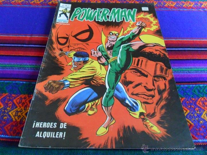 VÉRTICE MUNDI COMICS VOL. 1 POWERMAN POWER MAN POWER-MAN Nº 17. 40 PTS. 1979. MBE. RARO. (Tebeos y Comics - Vértice - Surco / Mundi-Comic)