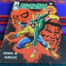 Cómics: VÉRTICE MUNDI COMICS VOL. 1 POWERMAN POWER MAN POWER-MAN Nº 17. 40 PTS. 1979. MBE. RARO.. Lote 54605446