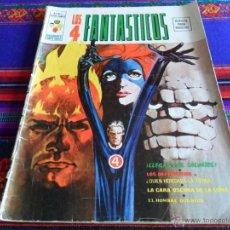 Cómics: VÉRTICE VOL 2 LOS 4 FANTÁSTICOS Nº 1. 1974. LLEGAN LOS SALVAJES. DIFÍCIL!!!!!. Lote 54619153