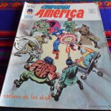 Cómics: VÉRTICE VOL. 3 CAPITÁN AMÉRICA Nº 3. 35 PTS. 1976. ESCLAVO DE LOS SKULL.. Lote 54619387