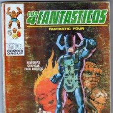 Cómics: LOS 4 FANTASTICOS VERTICE TACO Nº 37 - LOMO COMPLETO - 128 PGS 25 PTS. Lote 54637733