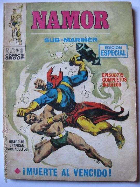 NAMOR Nº2 (Tebeos y Comics - Vértice - V.1)