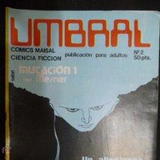 Cómics: UMBRAL. Nº 2. COMICS MAISAL. CIENCIA FICCIÓN. Lote 54795129