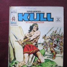 Cómics: SUPER HEROES Nº 21 PRESENTA KULL EL CONQUISTADOR. VOL. 2 VERTICE, 1975. V.1 TEBENI. Lote 54881795