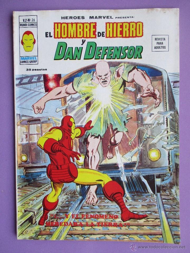 HEROES MARVEL Nº 26, VERTICE VOLUMEN 2, BUEN ESTADO. (Tebeos y Comics - Vértice - V.1)
