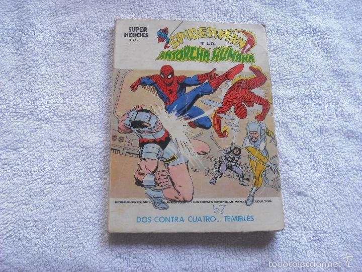 SPIDERMAN 2 . VOL 1, 1973 . DOS CONTRA CUATRO...TEMIBLES (Tebeos y Comics - Vértice - V.1)