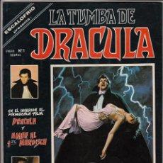 Cómics: COMPLETA - LA TUMBA DE DRACULA VOL.1 # 1 AL 4 (VERTICE,1979-1980) - GENE COLAN - ESCALOFRIO. Lote 55173569