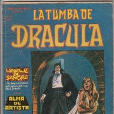 Cómics: LA TUMBA DE DRACULA VOL.1 # 3 (VERTICE,1980) - GENE COLAN - ESCALOFRIO. Lote 55173796
