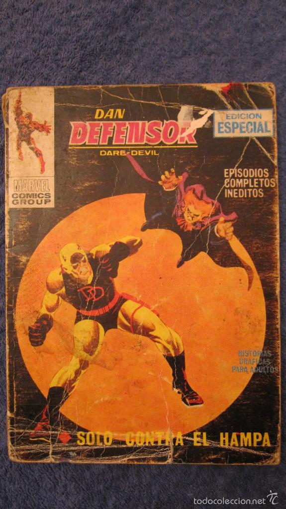 VERTICE VOL1: DAN DEFENSOR. Nº 9. GRAN OPORTUNIDAD EN PRECIO (Tebeos y Comics - Vértice - Dan Defensor)
