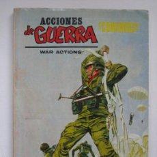 Cómics: ACCIONES DE GUERRA Nº 5. VOL. 1. VERTICE. Lote 55342904