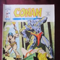 Comics: CONAN EL BARBARO Nº 18 VOL. 2 ¡LAS GARRAS DEL HOMBRE TIGRE! VERTICE V.2 TEBENI . Lote 55361122