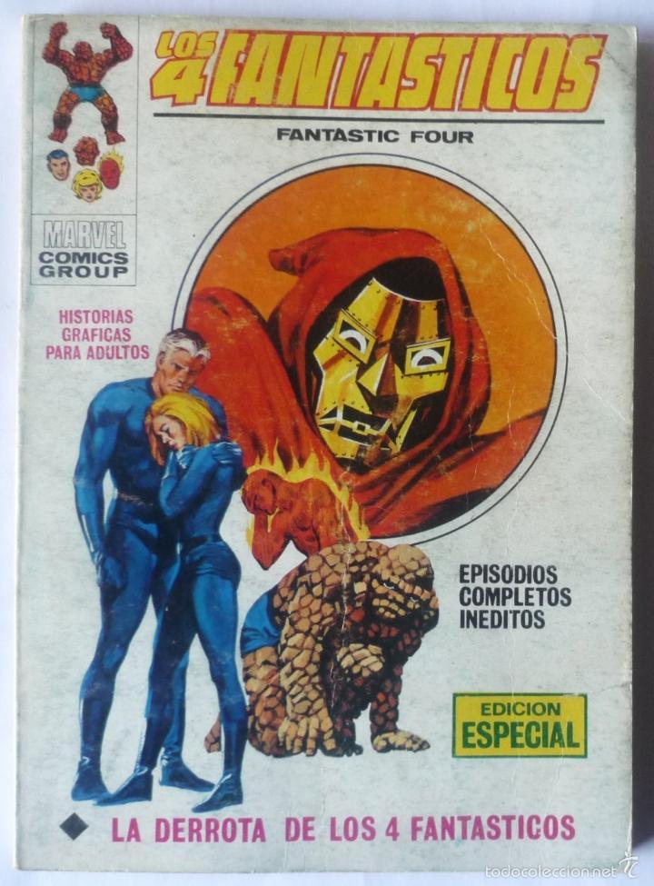 LOS 4 FANTASTICOS V.1 Nº 28 (Tebeos y Comics - Vértice - 4 Fantásticos)