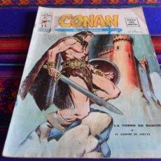 Cómics: VÉRTICE VOL. 2 CONAN, EL BÁRBARO Nº 4. 30 PTS. 1974. LA TORRE DE SANGRE. DIFÍCIL!!!. Lote 55682962