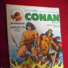 Cómics: CONAN - ANUAL 80 Nº 1 -. RUSTICA. Lote 55683112