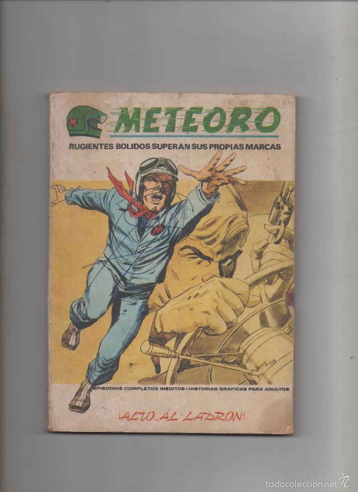 METEORO V.1 Nº 8, ALTO AL LADRON.VERTICE.DA (Tebeos y Comics - Vértice - V.1)