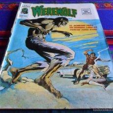 Cómics: VÉRTICE VOL. 2 WEREWOLF Nº 3 HOMBRE LOBO. 1975. 35 PTS. DIFÍCIL!!!. Lote 55823423