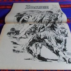 Cómics: VÉRTICE VOL. 1 ESCALOFRÍO Nº 18 TALES OF THE ZOMBIE Nº 5 CON PÓSTER. 1974. 30 PTS. MBE.. Lote 55823556