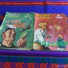 Cómics: VÉRTICE GRAPA KELLY OJO MÁGICO NºS 1, 7 Y 12. 10 PTS. 1965.. Lote 55904403