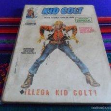 Cómics: VÉRTICE VOL. 1 KID COLT Nº 1. 1971. 25 PTS. LLEGA KID COLT. DIFÍCIL. . Lote 55952426