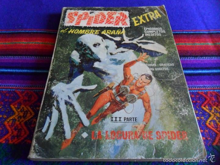 VÉRTICE VOL. 1 SPIDER Nº 14. 25 PTS. 1968. LA LOCURA DE SPIDER. DIFÍCIL!!!! (Tebeos y Comics - Vértice - V.1)