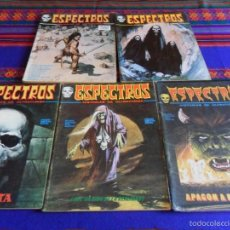 Cómics: VÉRTICE VOL. 1 ESPECTROS 11 12 19 20 24. 1972. 25 PTS. REGALO NºS 1 3 21. DIFÍCILES!!!!!. Lote 113889900
